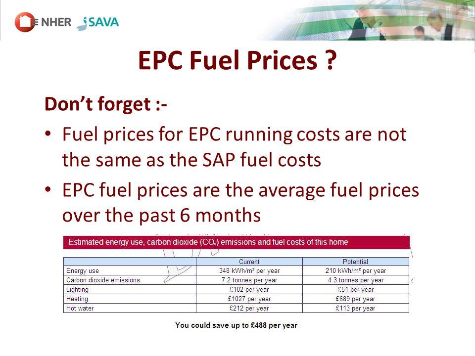 EPC Fuel Prices .