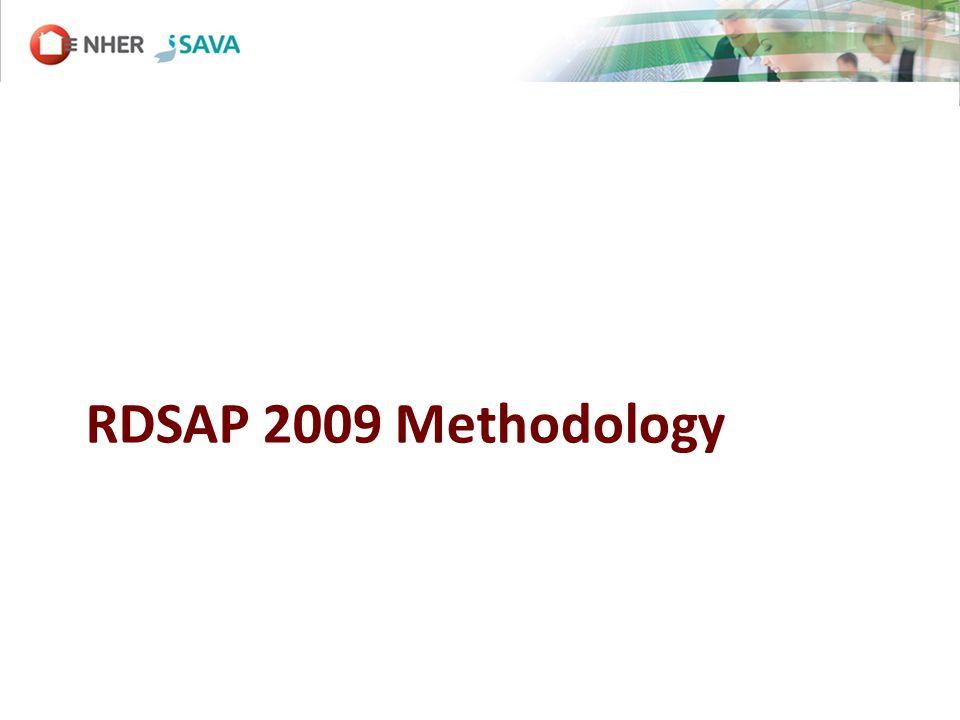 RDSAP 2009 Methodology