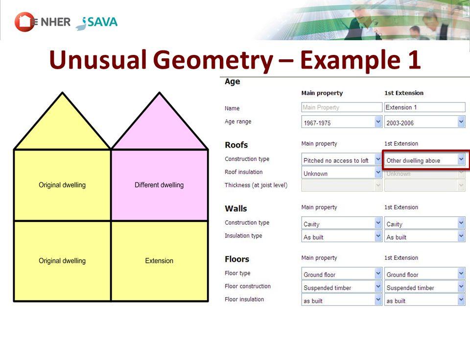 Unusual Geometry – Example 1
