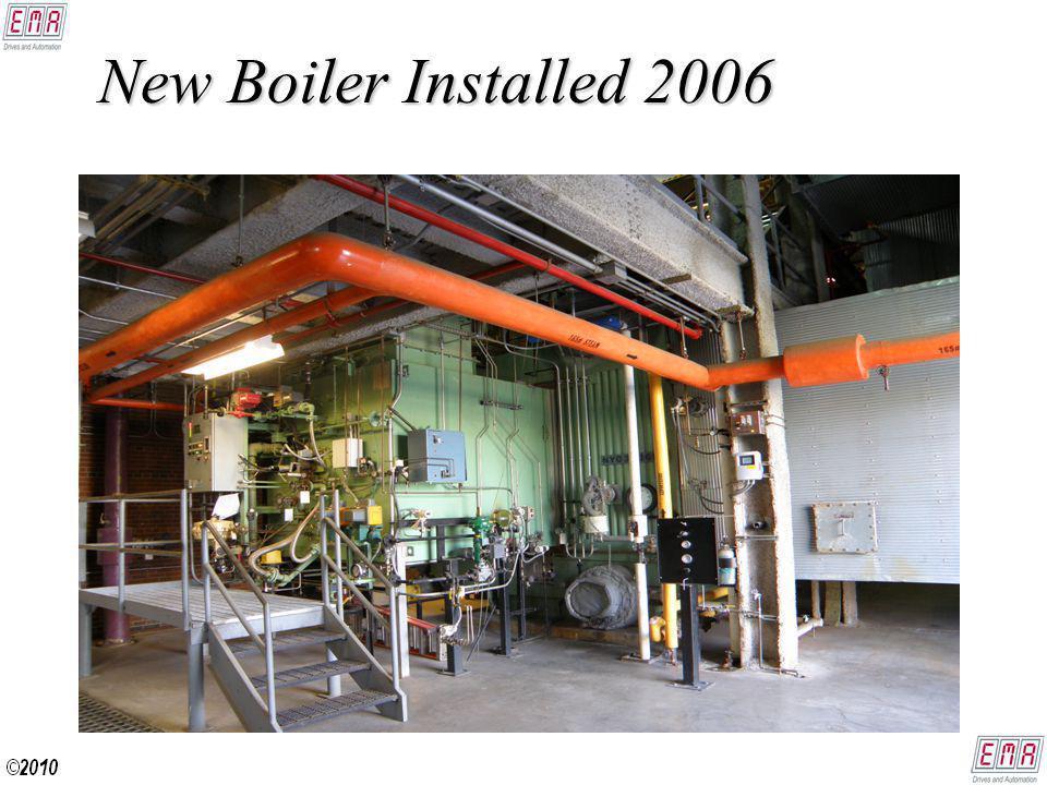 New Boiler Installed 2006