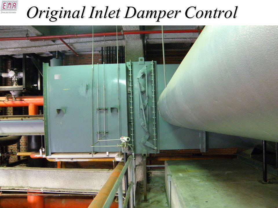 Original Inlet Damper Control