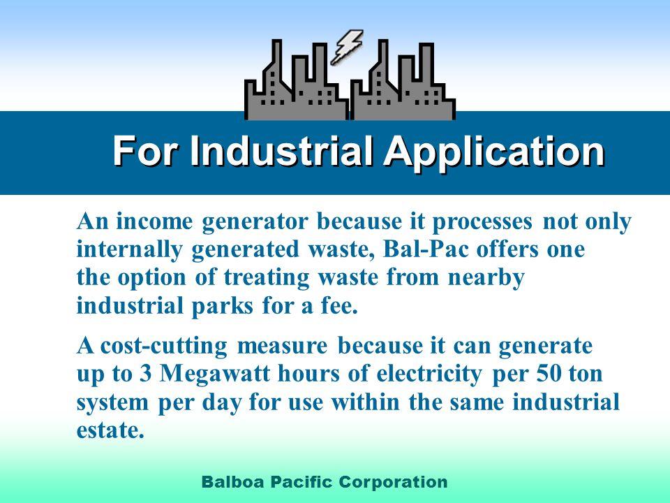 Balboa Pacific Corporation.