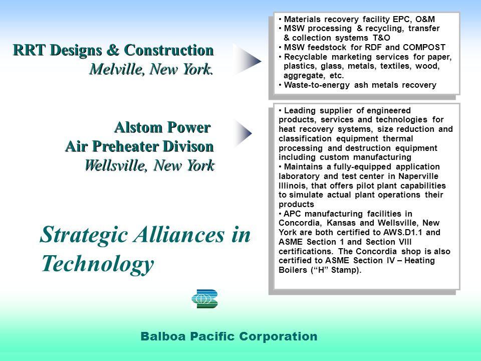 Balboa Pacific Corporation RRT Designs & Construction Melville, New York.