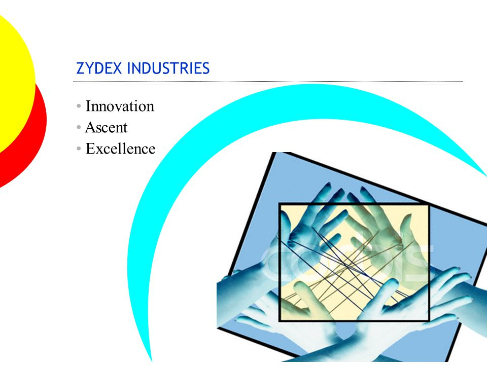 ZYDEX COMMITMENTS TO GREEN EARTH Eco- Production technologies Eco-products - Specialty polymers & chemicals