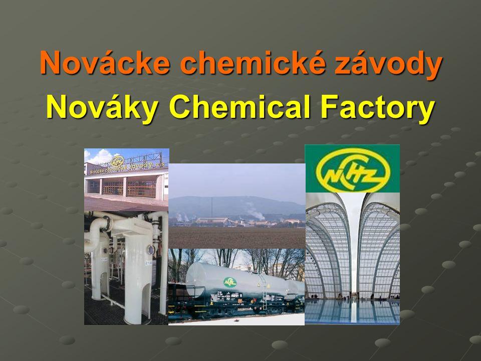 Novácke chemické závody Nováky Chemical Factory