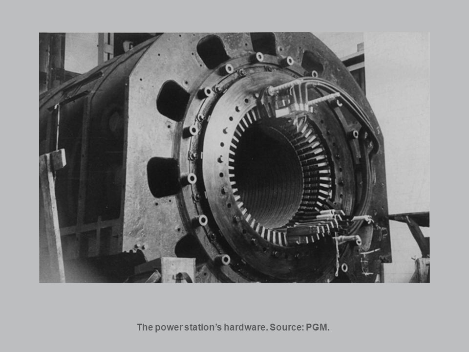 The power stations hardware. Source: PGM.