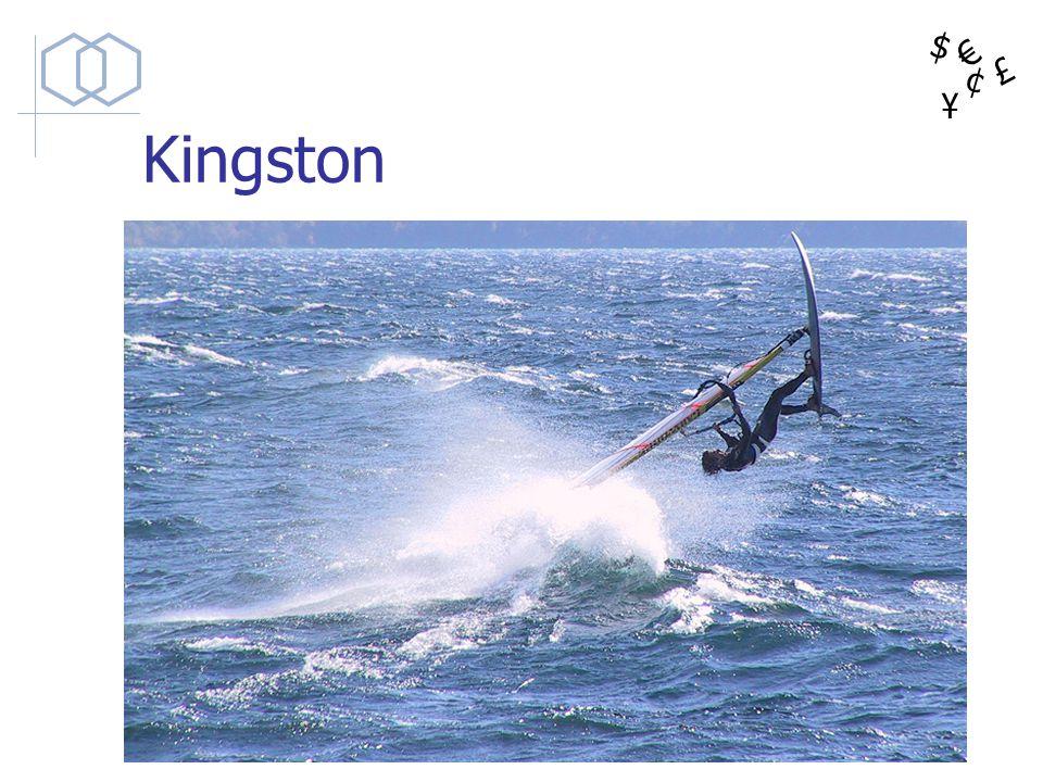 $ ¥ £ ¢ Kingston