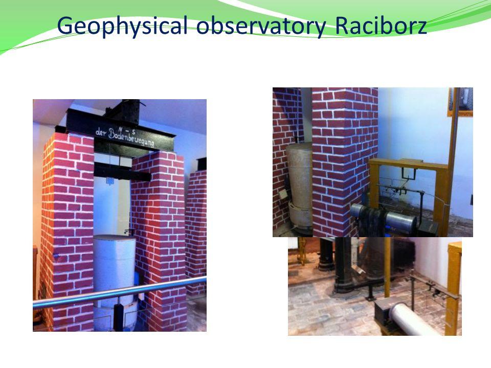 Geophysical observatory Raciborz