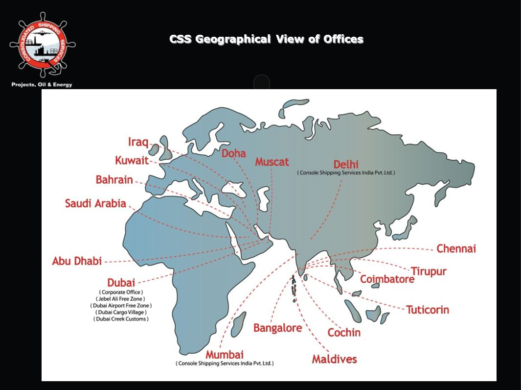 6/10/20144 CSS Geographical View of Offices