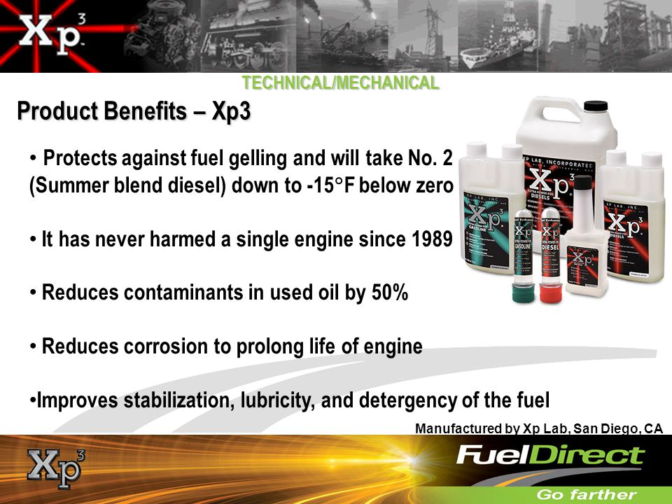 TECHNICAL/MECHANICAL Additives Added by Fuel Producers: Oxidation stability Antioxidants Metal deactivators Gasoline distribution Corrosion inhibitors Biocides Anti-static Drag-reducing agents Odorants To protect vehicle fuel system Corrosion inhibitors Demulsifies Anti-icing Detergents Deposits control