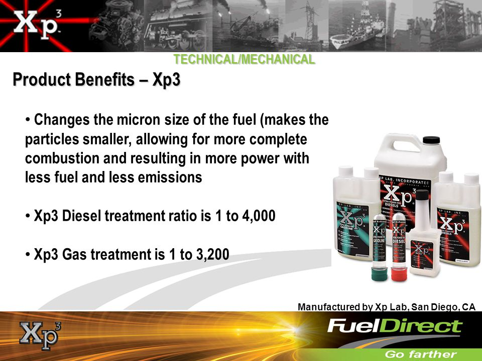 TECHNICAL/MECHANICAL WHY DO FUEL USERS REQUIRE ADDITIONAL FUEL ADDITIVES?