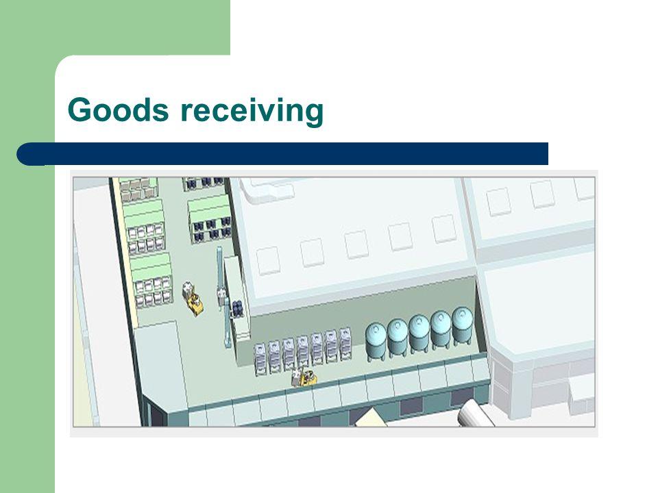 Goods receiving