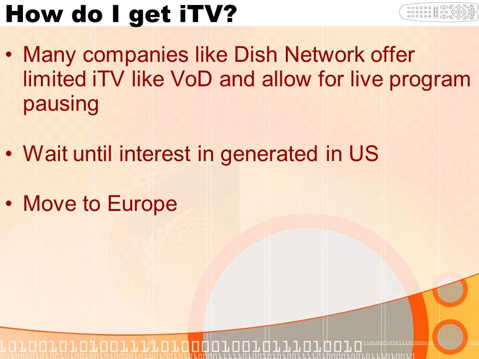 How do I get iTV.