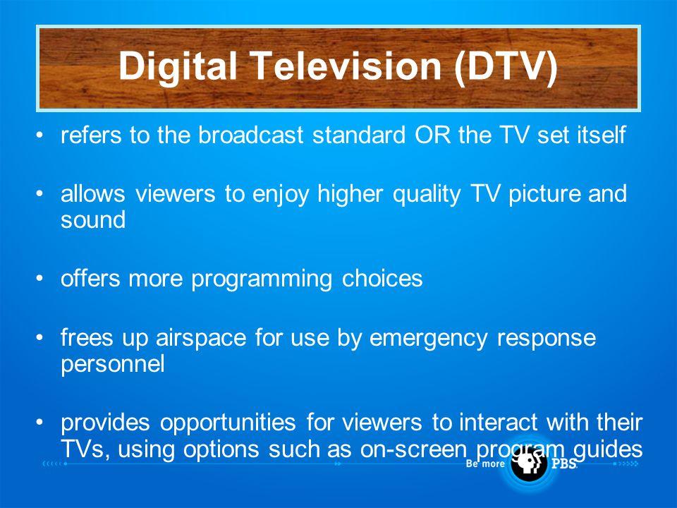 Good News! Digital TV is here now
