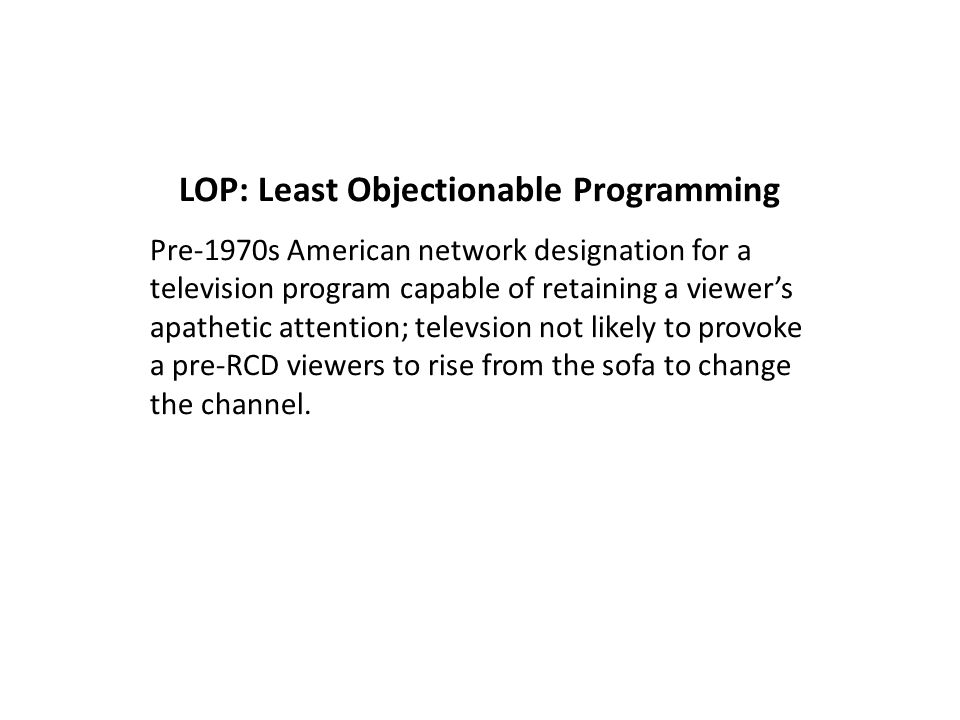 Characteristics of Quality Television (1996) Preface--The Golden Age of Television to Quality TV (Robert J.
