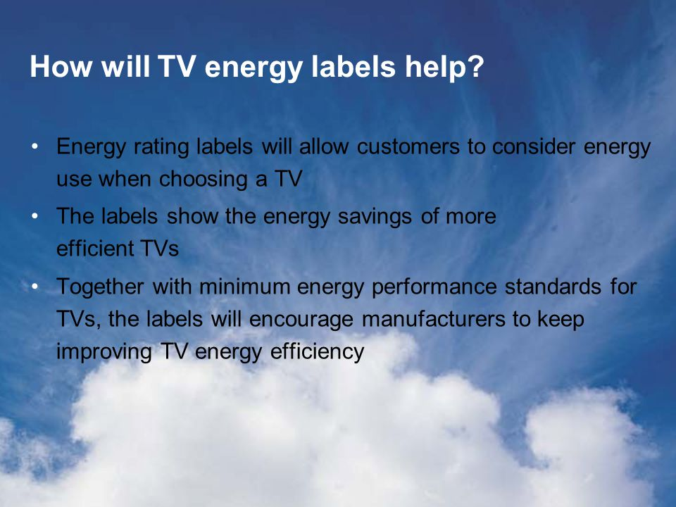 Snap Quiz - Answer 6 6.Which of the following statements is true for measuring energy efficiency: A.