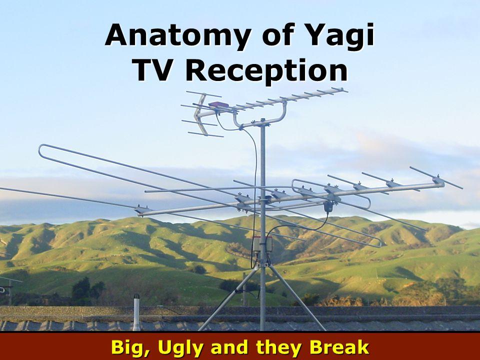 Anatomy of Yagi TV Reception Big, Ugly and they Break