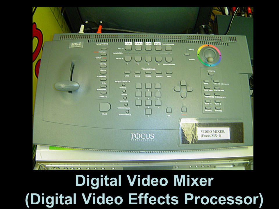 Digital Video Mixer (Digital Video Effects Processor)