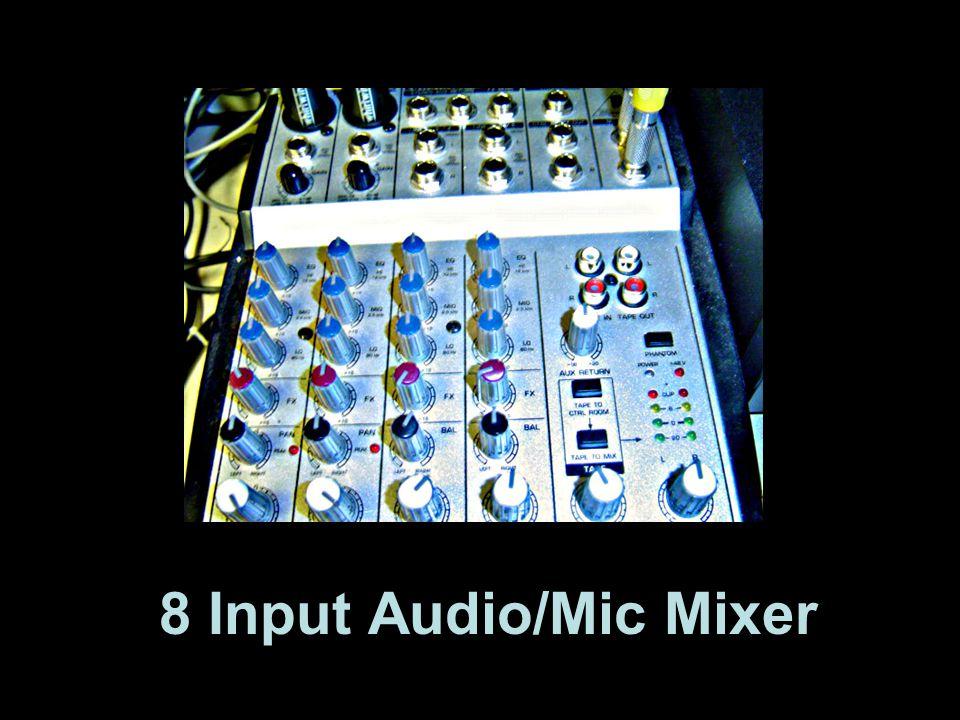 8 Input Audio/Mic Mixer