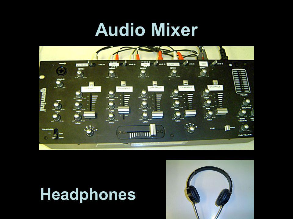 8 Input Mixer Audio Mixer Headphones