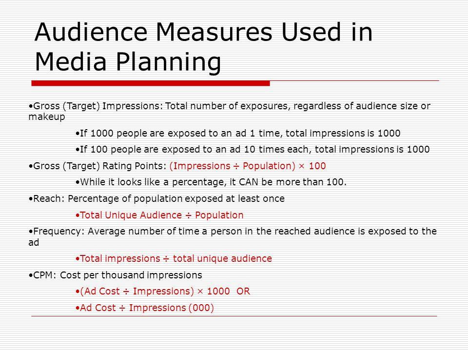 Partner Up Audience Measurement Handout
