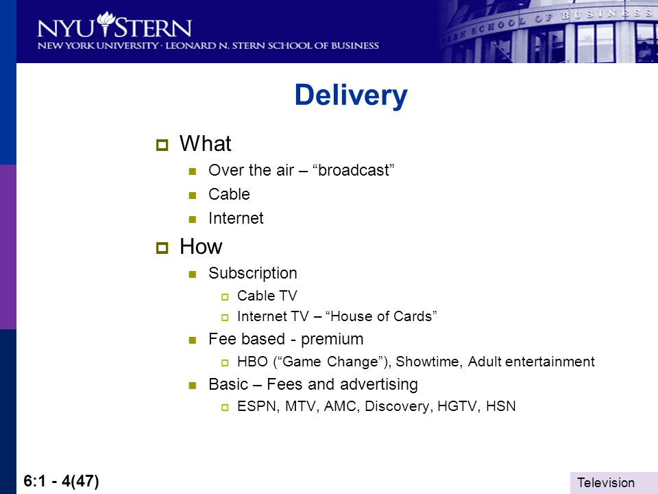 Television 6:1 - 15(47) Entertainment and Media: Markets and Economics Explaining Why There Are So Many Reality Shows on Television