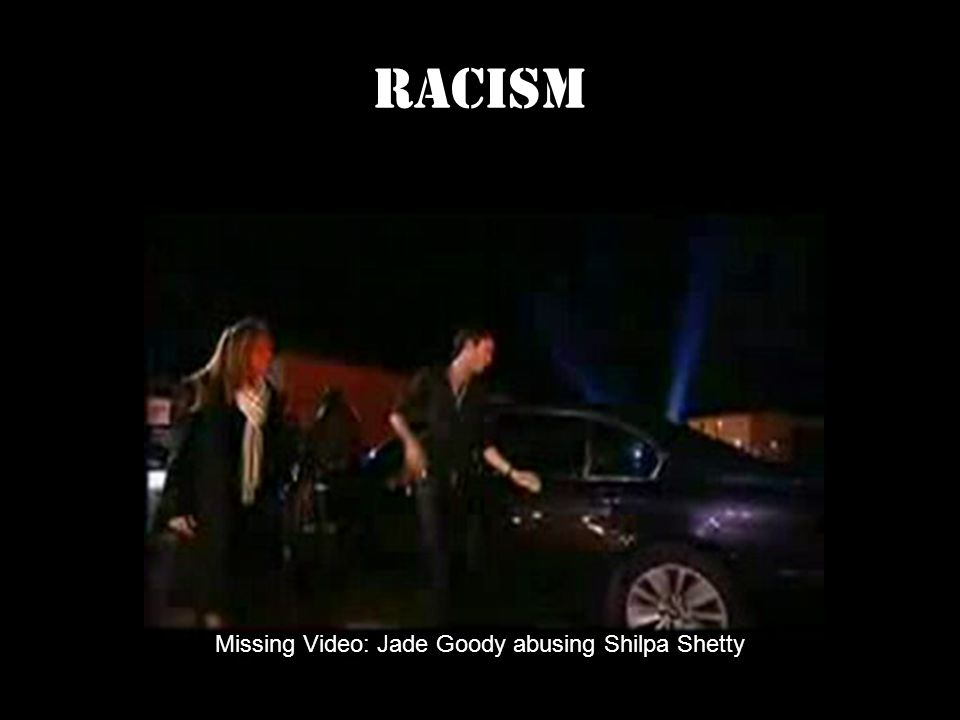 RACISM Missing Video: Jade Goody abusing Shilpa Shetty