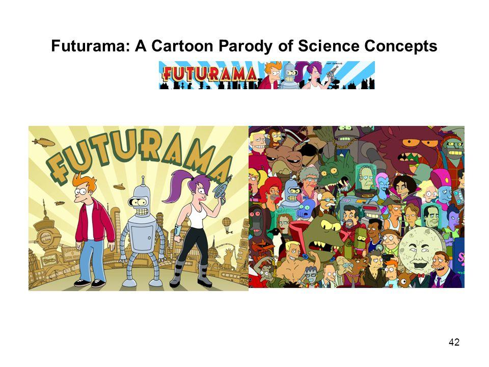 Futurama: A Cartoon Parody of Science Concepts 42