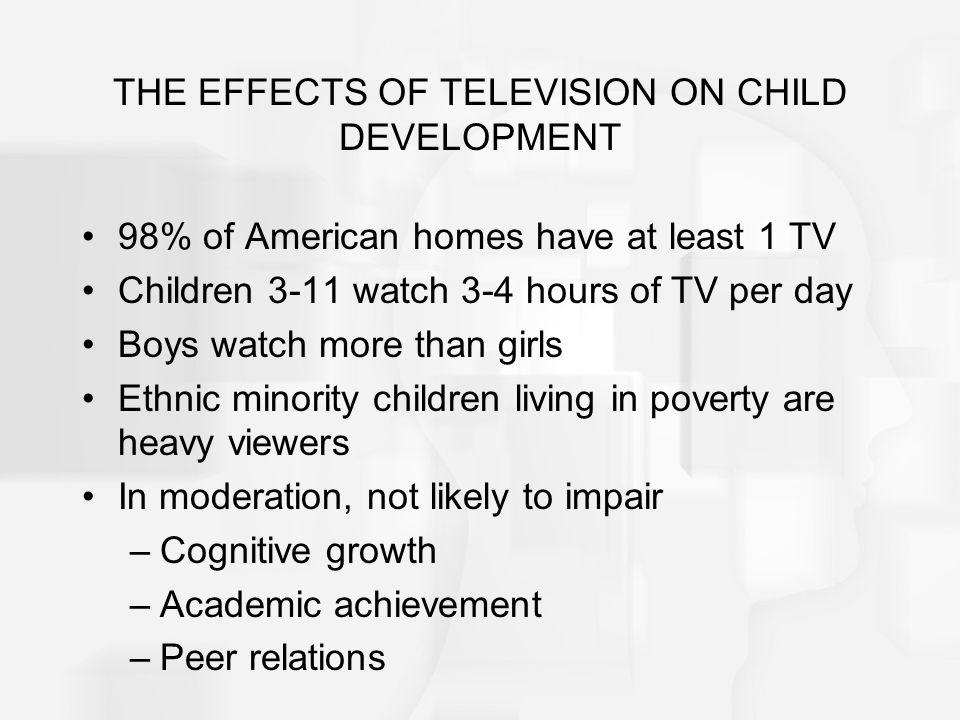 Table 16.1 Strategies for Regulating the Effects of TV on Childrens Development.