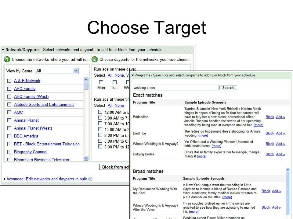 Choose Target