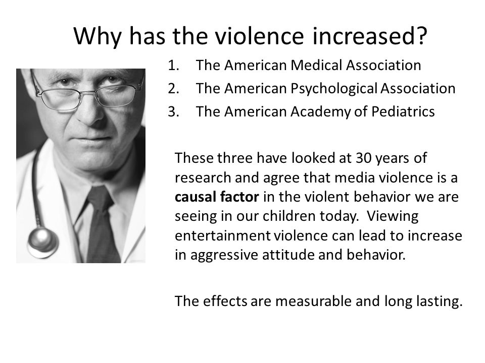 Why has the violence increased.