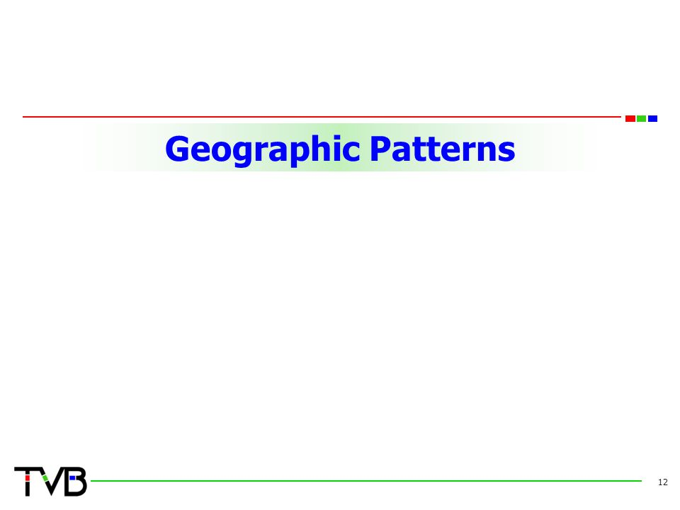 Geographic Patterns 12