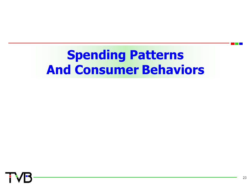 Spending Patterns And Consumer Behaviors 23