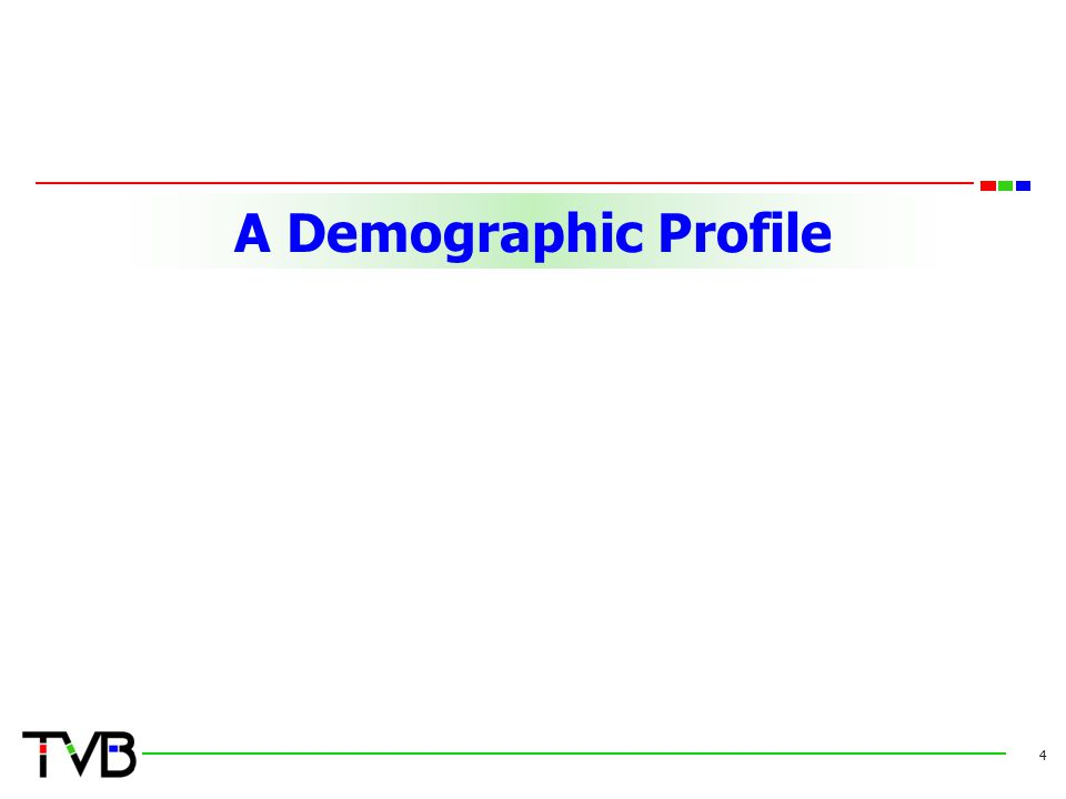 A Demographic Profile 4