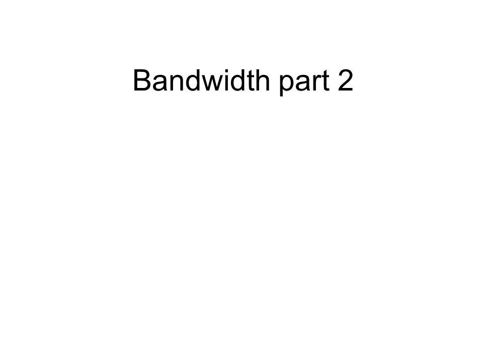 Bandwidth part 2