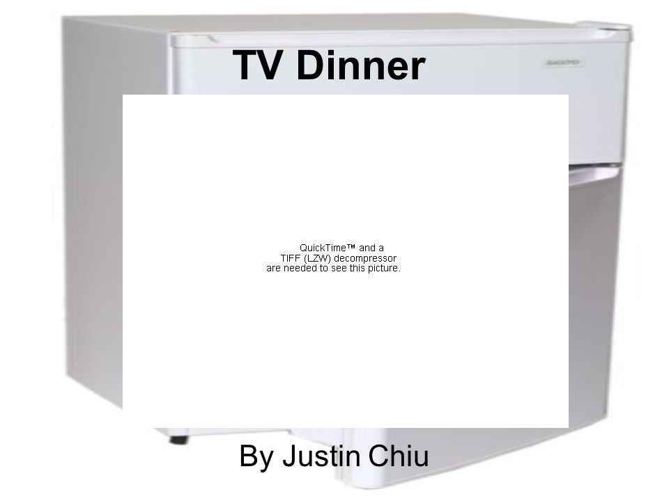 TV Dinner By Justin Chiu