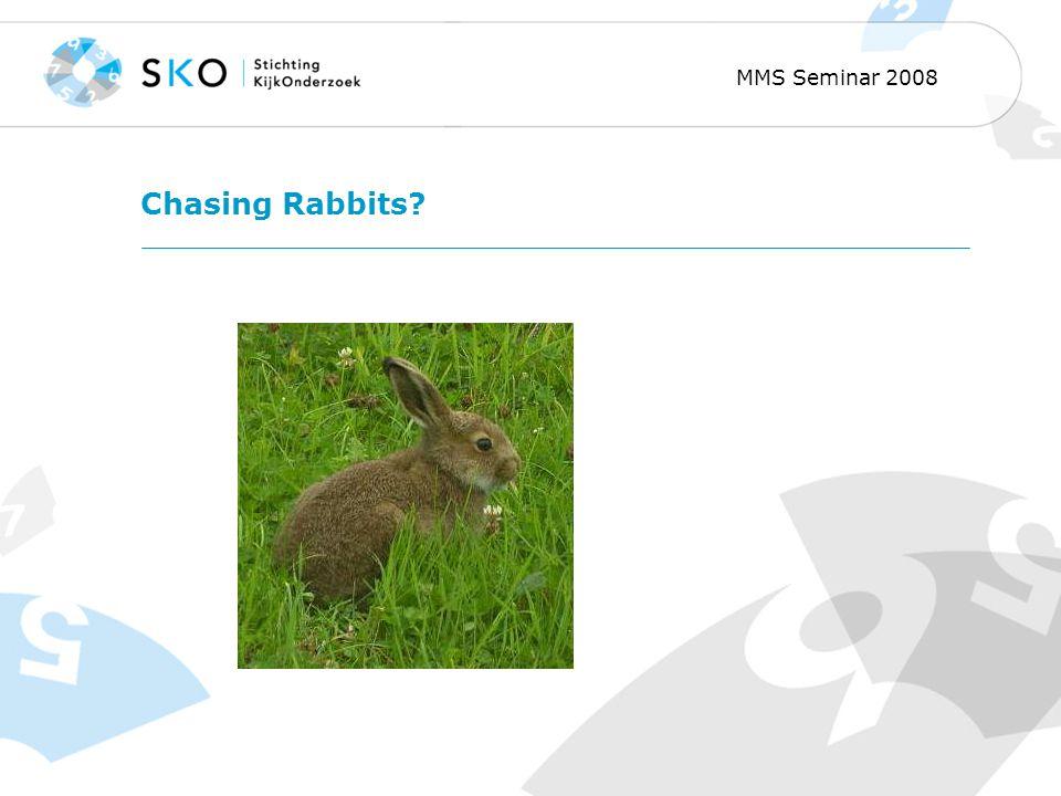 MMS Seminar 2008 Chasing Rabbits