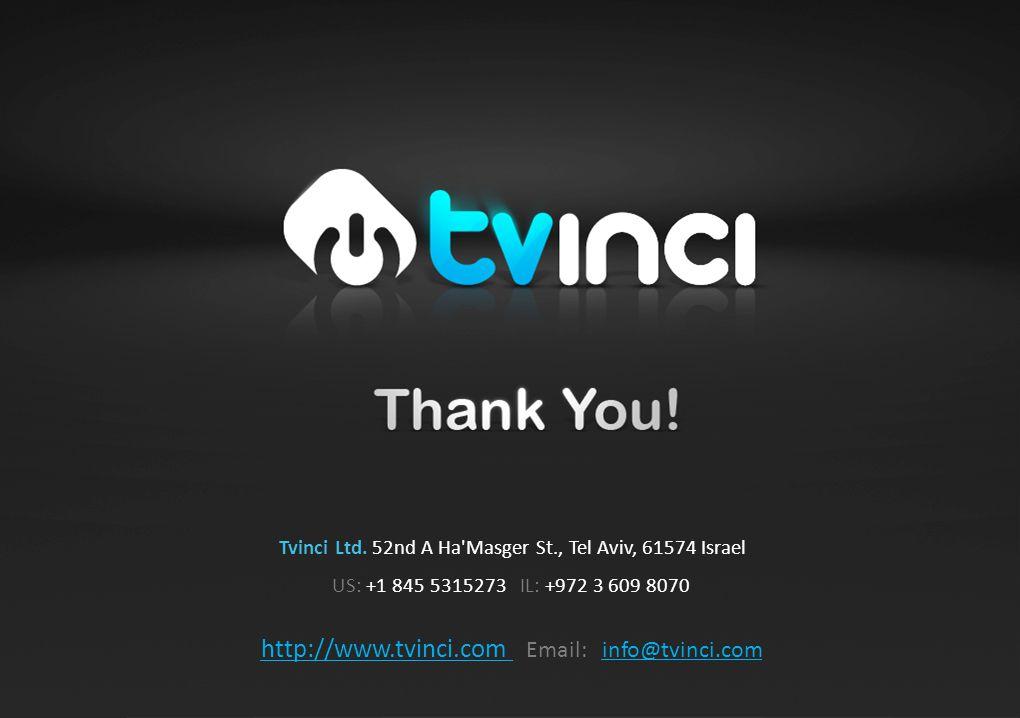 21 Tvinci Ltd.