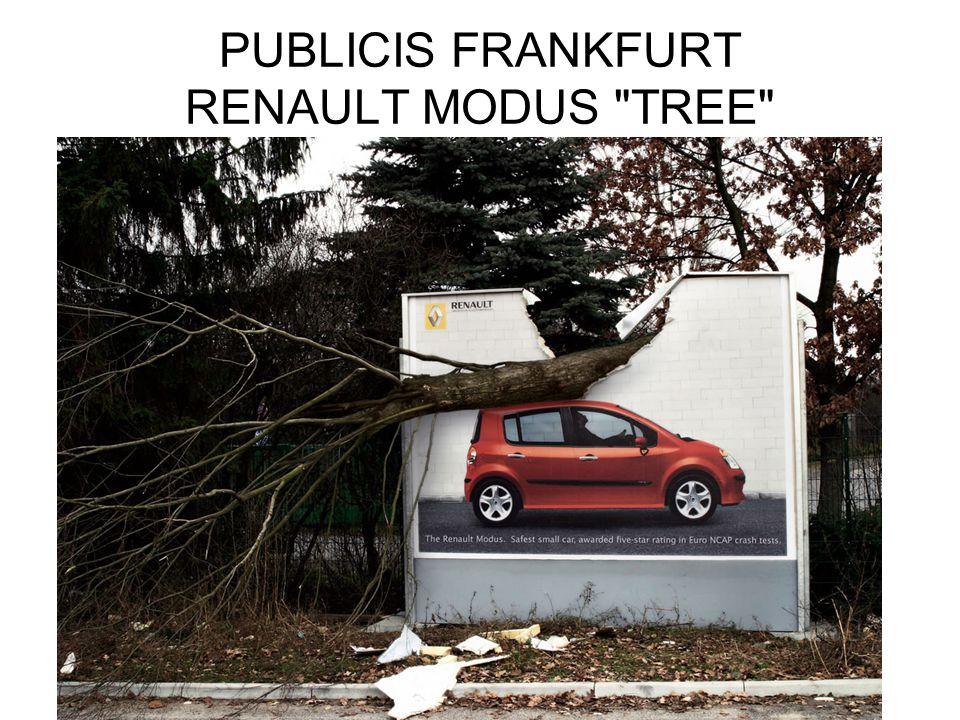 PUBLICIS FRANKFURT RENAULT MODUS TREE