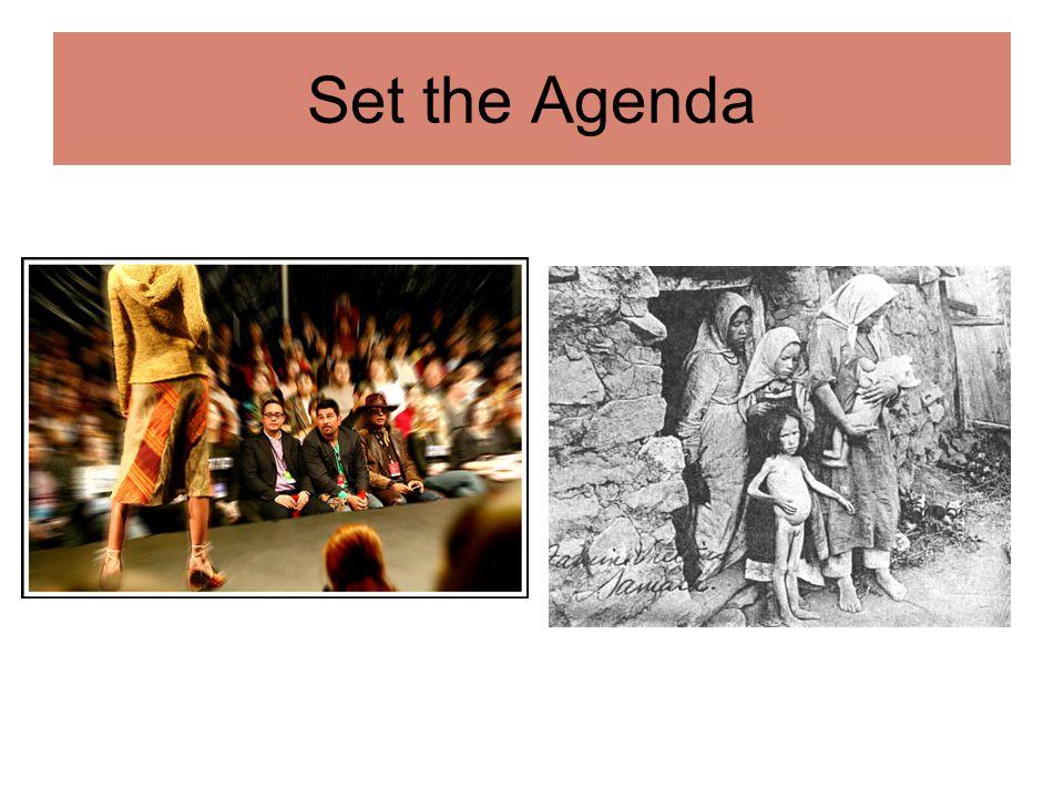 Set the Agenda