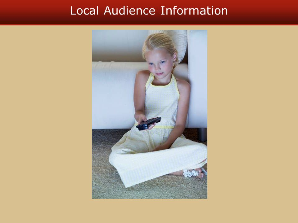 National Audience Information