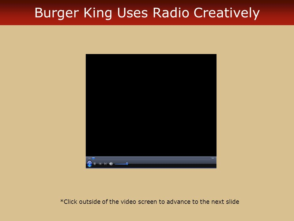 Mental ImageryImagery Visual elements of television commercials are transferred into the consumers mind by using a similar audio track in radio commercials