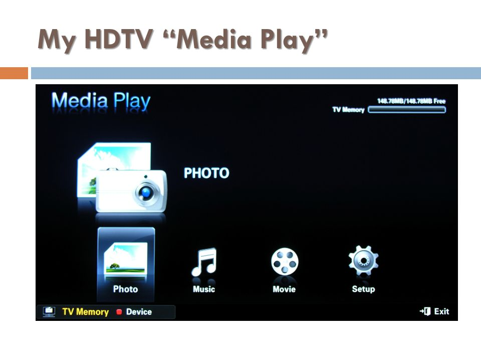 My HDTV Media Play