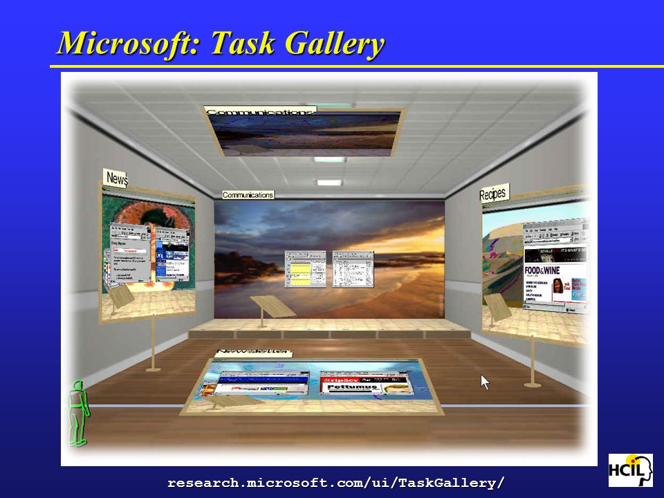 Microsoft: Task Gallery research.microsoft.com/ui/TaskGallery/
