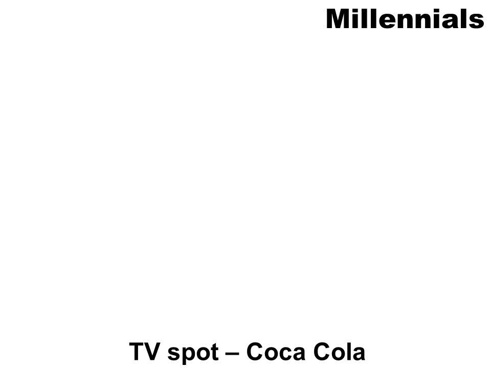 Millennials TV spot – Coca Cola
