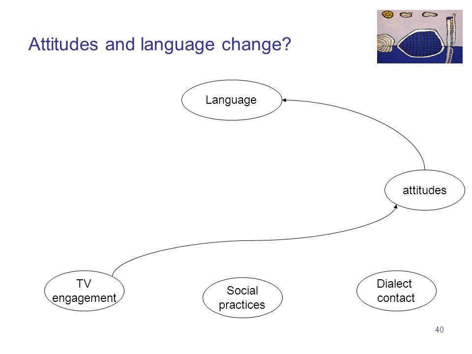 39 TV engagement Language e.g.