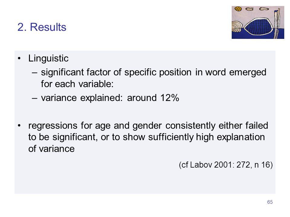 64 1. L-vocalization wordlists (n = 1165)conversations (n = 1429)