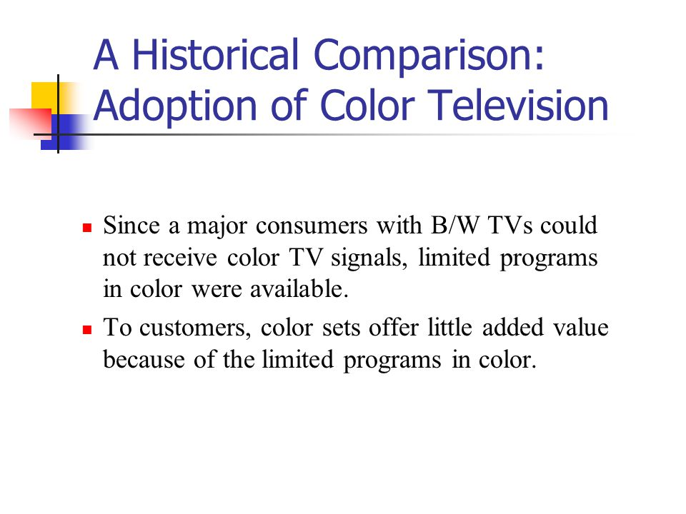 The FCC officially reversed its 1950 decision so that B/W TV sets could receive color TV signals.