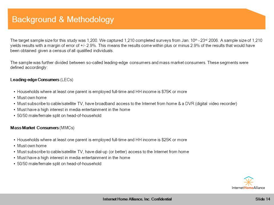 Slide 14 Internet Home Alliance, Inc.