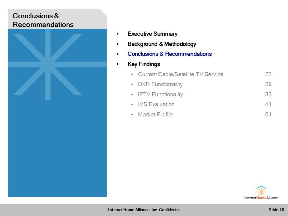 Slide 16 Internet Home Alliance, Inc.